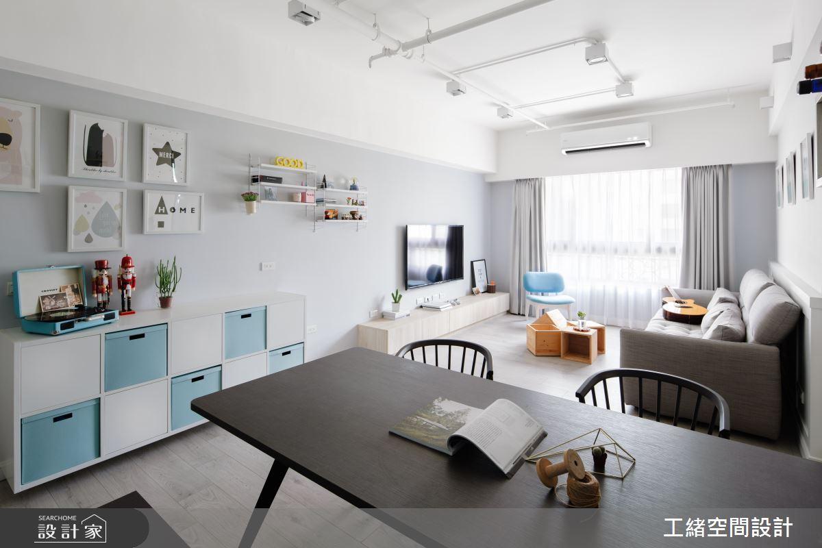 25坪新成屋(5年以下)_北歐風餐廳案例圖片_工緒空間設計_工緒_04之3