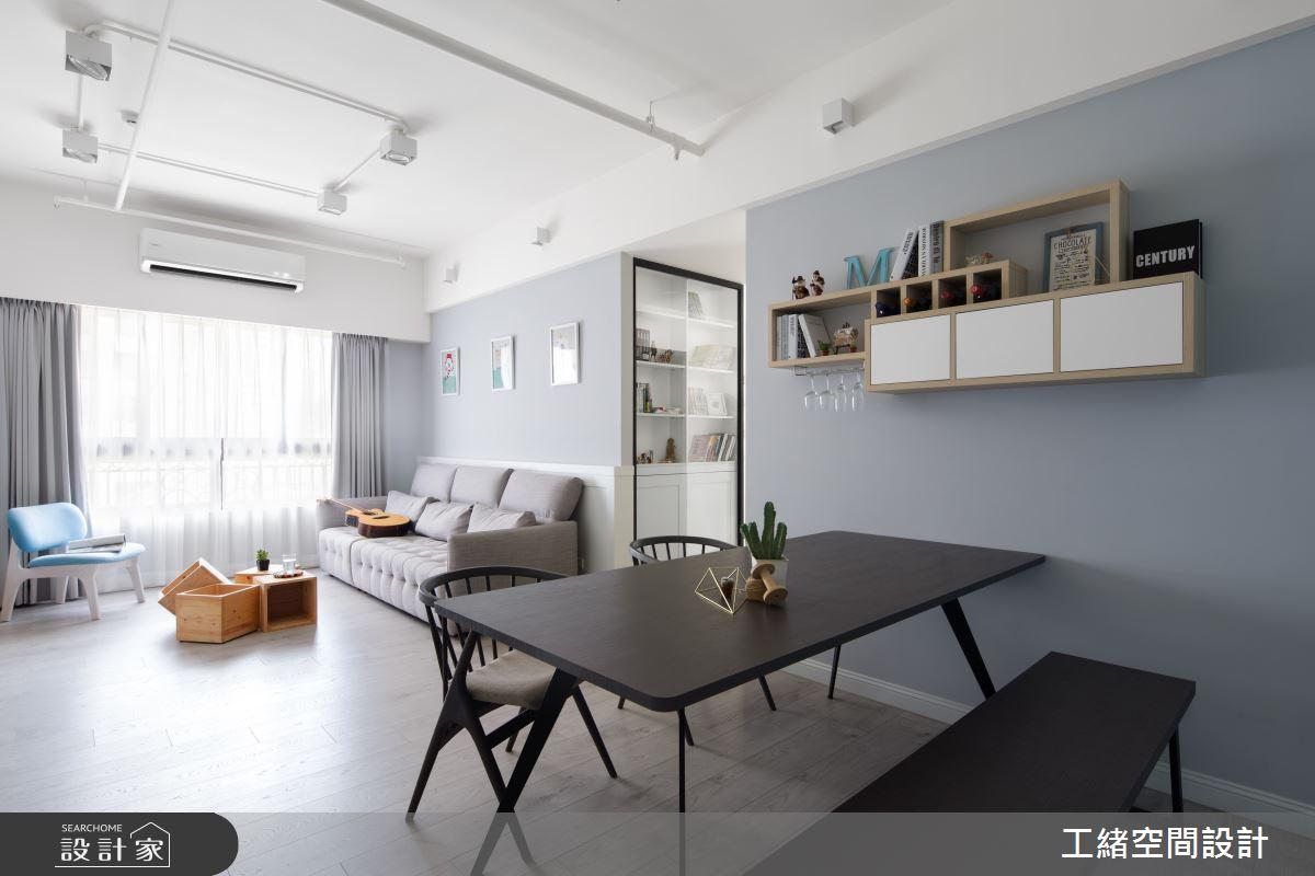 25坪新成屋(5年以下)_北歐風餐廳案例圖片_工緒空間設計_工緒_04之4