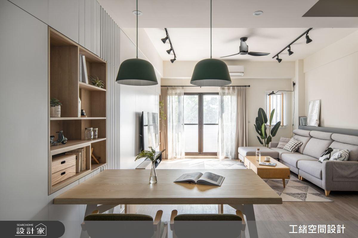 20坪新成屋(5年以下)_北歐風餐廳案例圖片_工緒空間設計_工緒_11之4