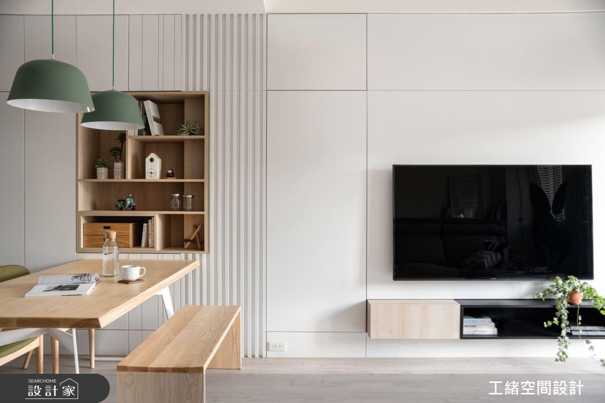 20坪新成屋(5年以下)_北歐風餐廳案例圖片_工緒空間設計_工緒_11之3
