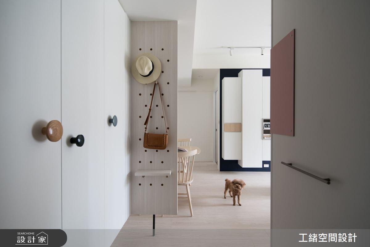 20坪新成屋(5年以下)_北歐風案例圖片_工緒空間設計_工緒_16之2