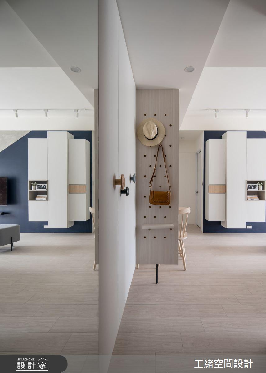 20坪新成屋(5年以下)_北歐風玄關案例圖片_工緒空間設計_工緒_16之1