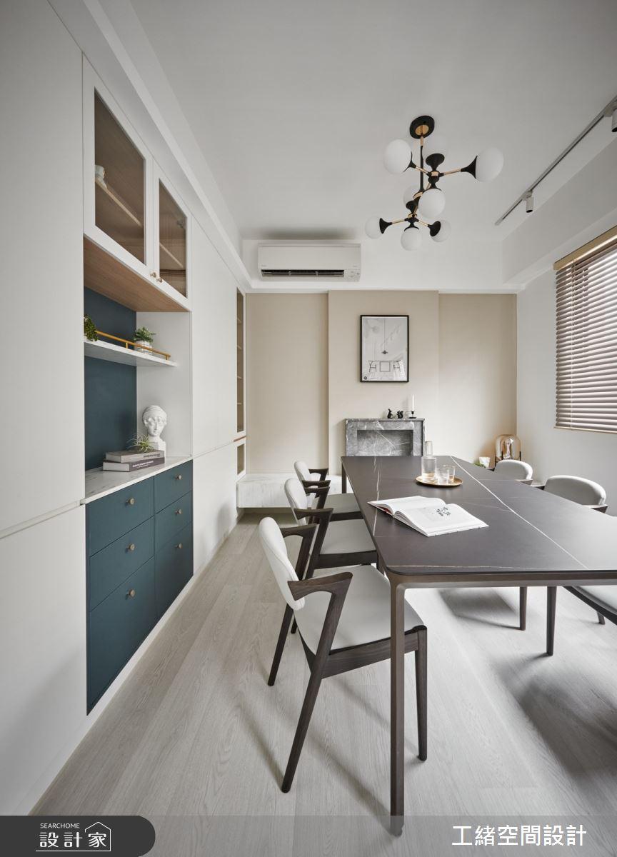 40坪新成屋(5年以下)_混搭風餐廳案例圖片_工緒空間設計_工緒_17之4