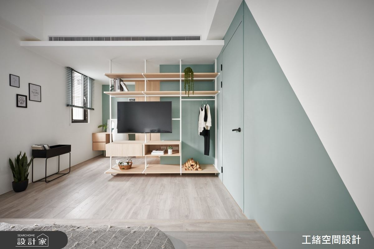 40坪新成屋(5年以下)_混搭風臥室案例圖片_工緒空間設計_工緒_17之17
