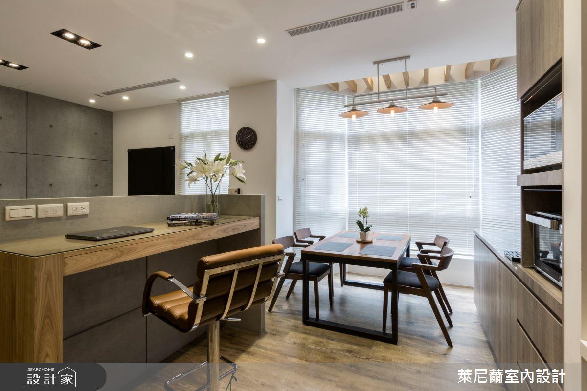 35坪中古屋(5~15年)_混搭風餐廳案例圖片_萊尼薾室內設計有限公司_萊尼薾_02之4