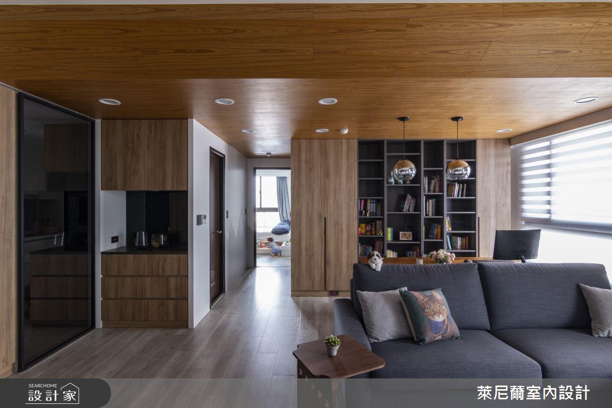 28坪預售屋_混搭風書房案例圖片_萊尼薾室內設計有限公司_萊尼薾_05之11