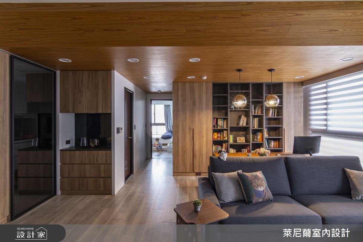28坪預售屋_混搭風書房案例圖片_萊尼薾室內設計有限公司_萊尼薾_05之12