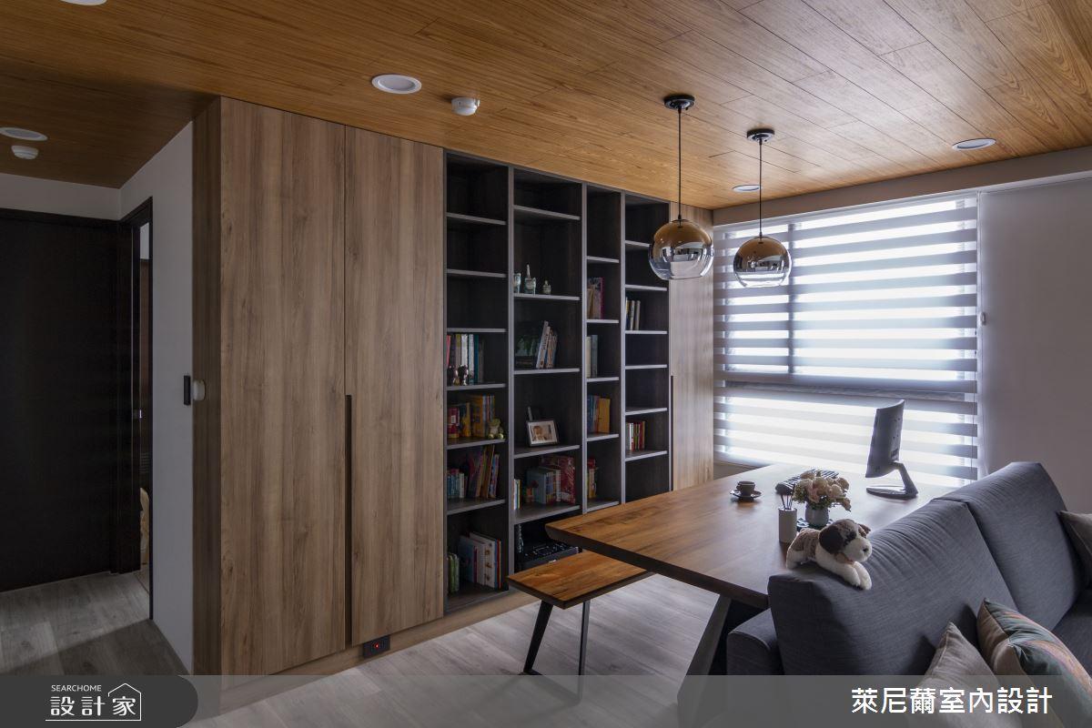 28坪預售屋_混搭風書房案例圖片_萊尼薾室內設計有限公司_萊尼薾_05之10