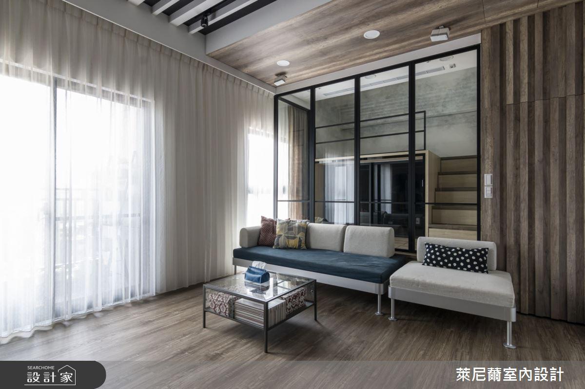 17坪新成屋(5年以下)_現代風客廳案例圖片_萊尼薾室內設計有限公司_萊尼薾_06之3