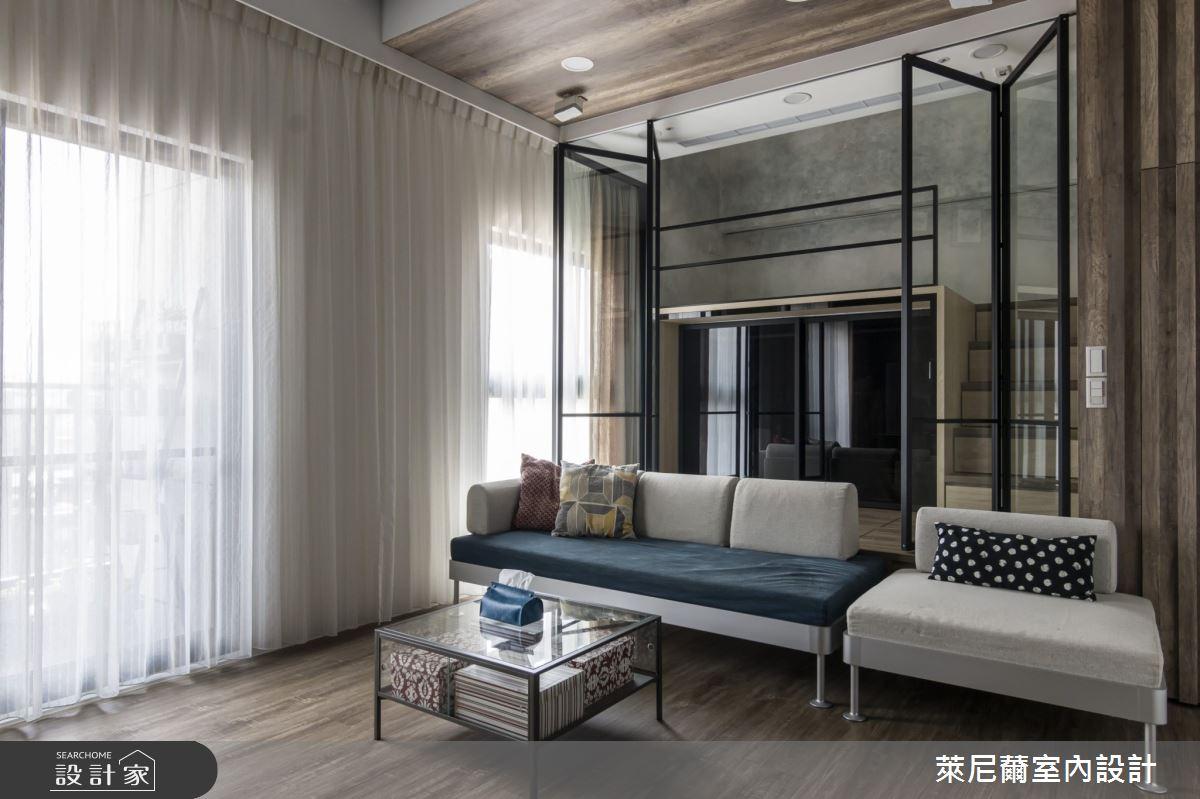 17坪新成屋(5年以下)_現代風客廳案例圖片_萊尼薾室內設計有限公司_萊尼薾_06之5