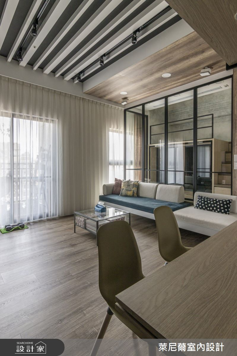 17坪新成屋(5年以下)_現代風吧檯案例圖片_萊尼薾室內設計有限公司_萊尼薾_06之2