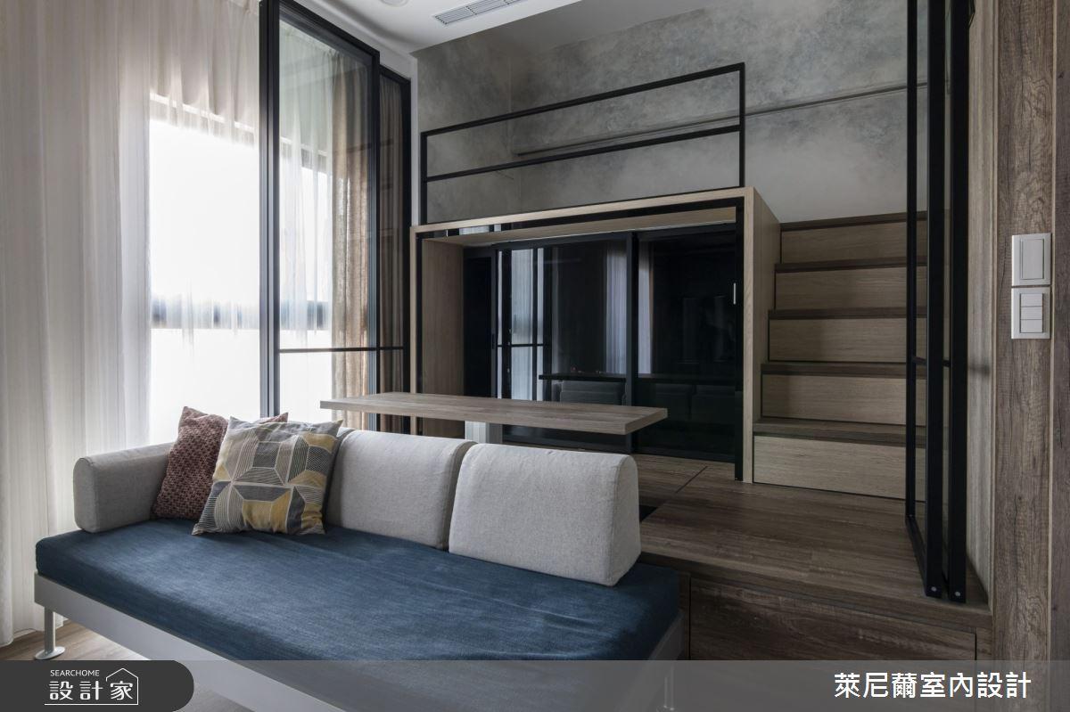 17坪新成屋(5年以下)_現代風客廳案例圖片_萊尼薾室內設計有限公司_萊尼薾_06之4