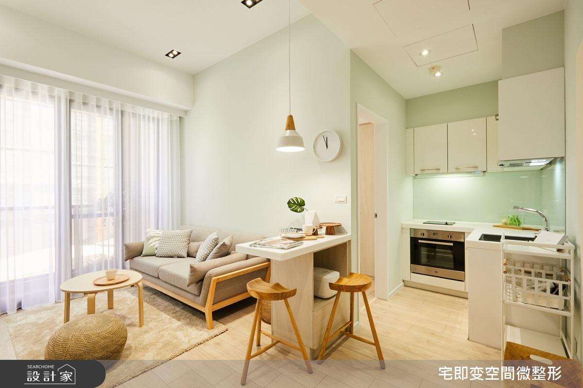 新成屋(5年以下)_木質風客廳餐廳廚房案例圖片_宅即變空間微整型_宅即變_07之4
