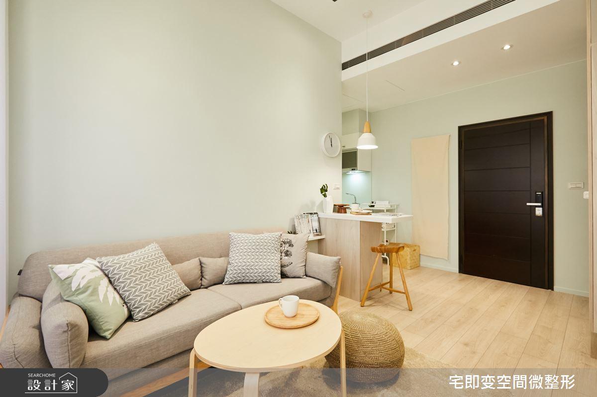 新成屋(5年以下)_木質風客廳餐廳案例圖片_宅即變空間微整型_宅即變_07之1