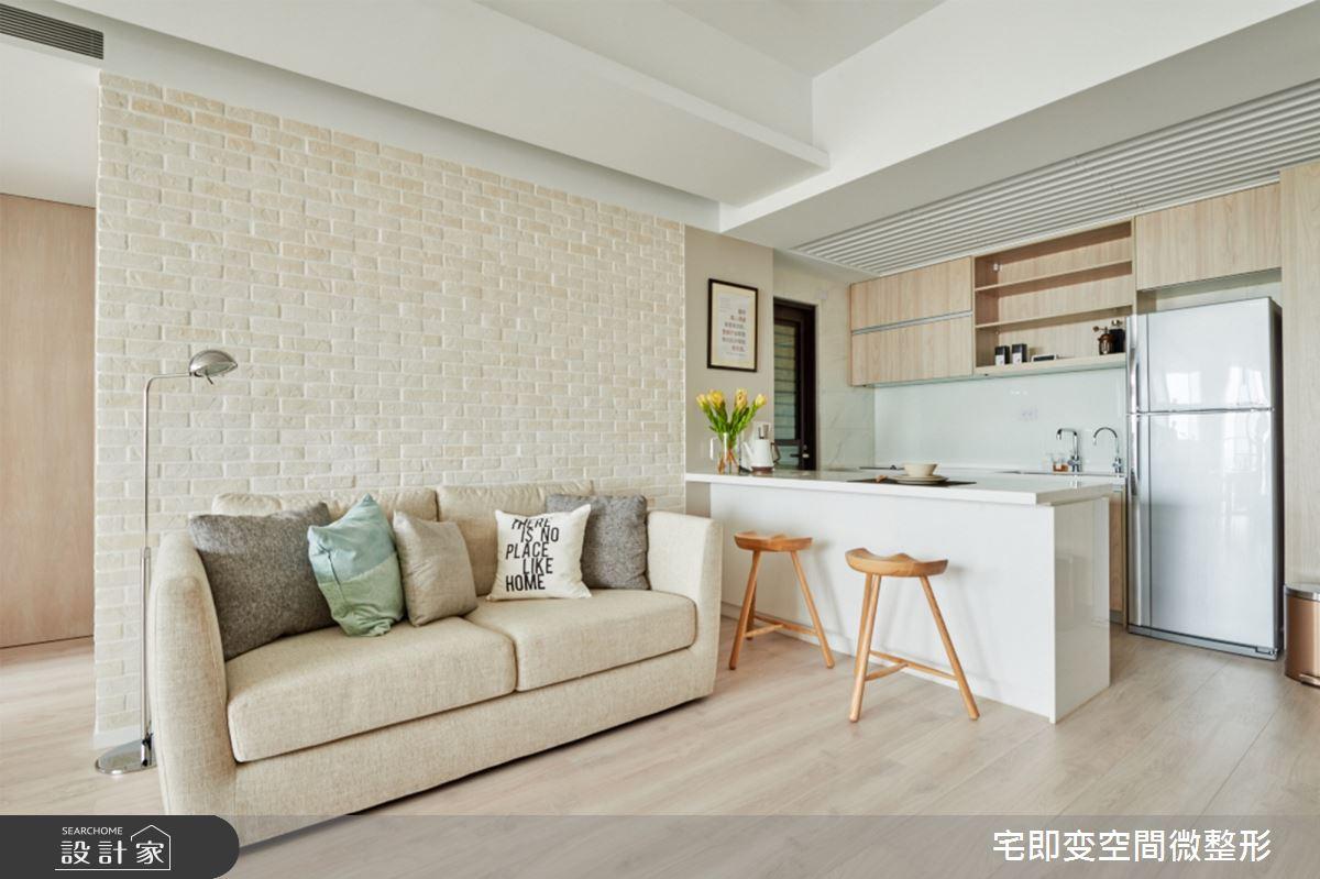 新成屋(5年以下)_木質風客廳廚房吧檯案例圖片_宅即變空間微整型_宅即變_09之4