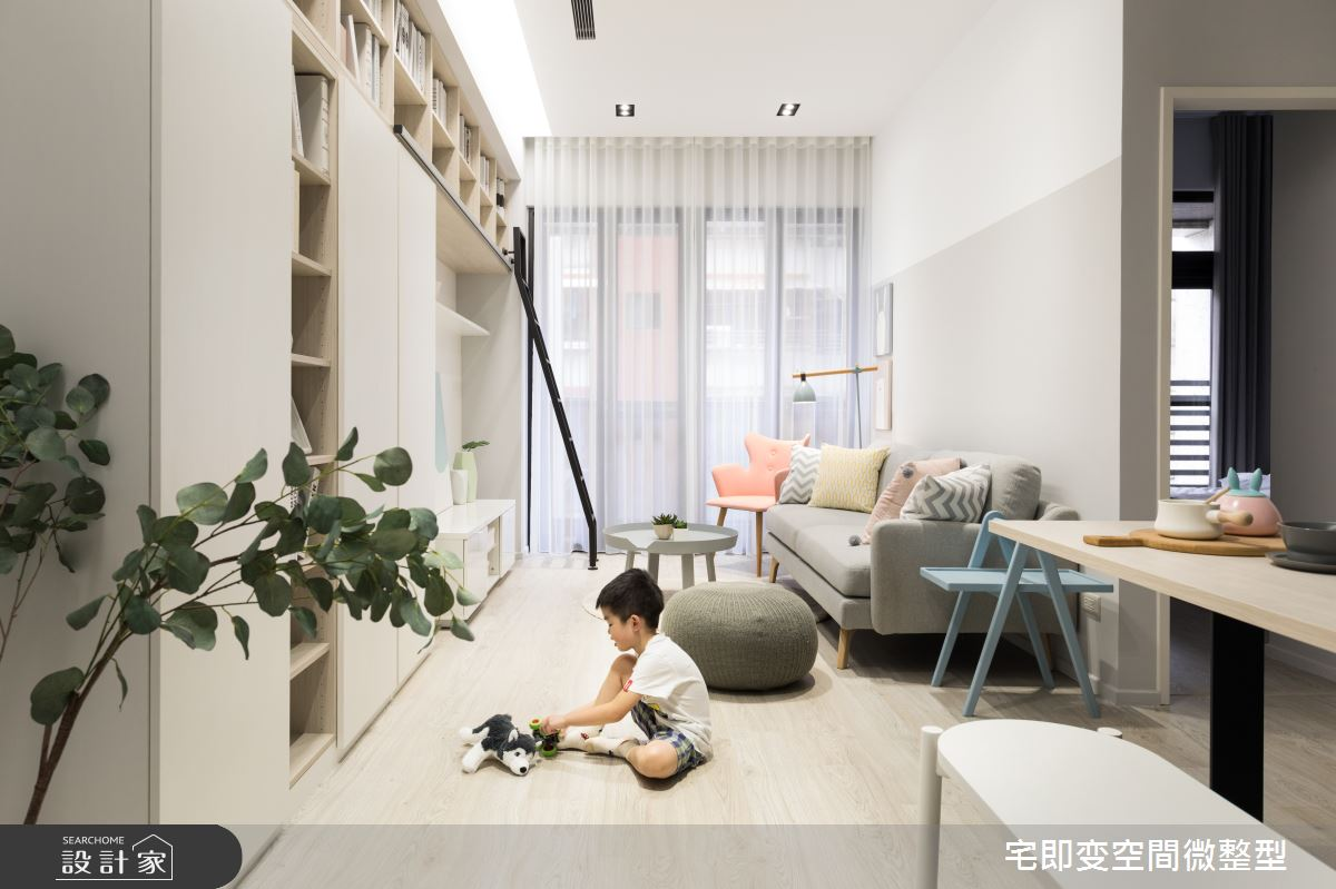 新成屋(5年以下)_北歐風客廳案例圖片_宅即變空間微整型_宅即變_16之4