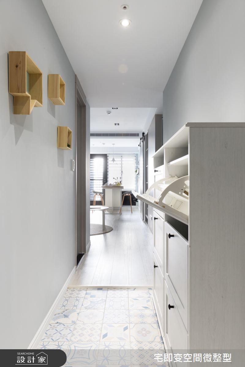 28坪新成屋(5年以下)_北歐風玄關案例圖片_宅即變空間微整型_宅即變_31之2