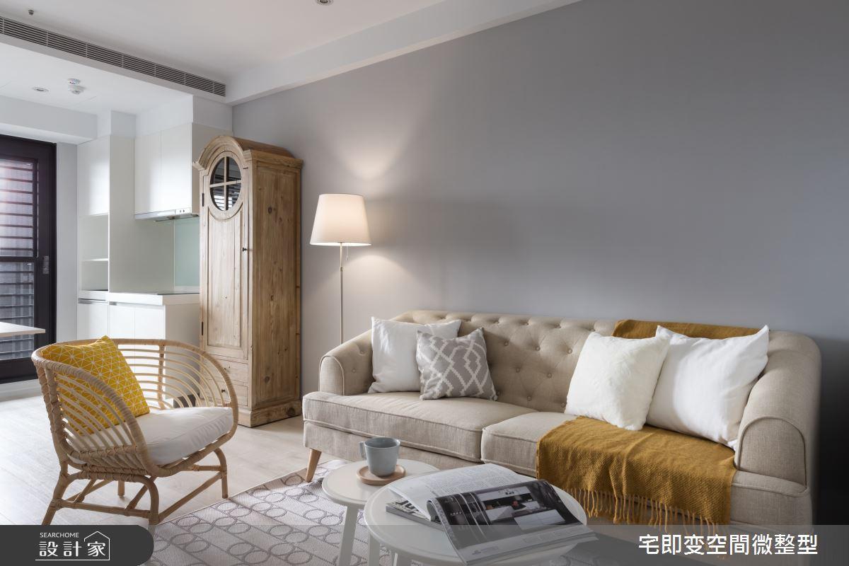 28坪新成屋(5年以下)_美式風客廳案例圖片_宅即變空間微整型_宅即變_32之7