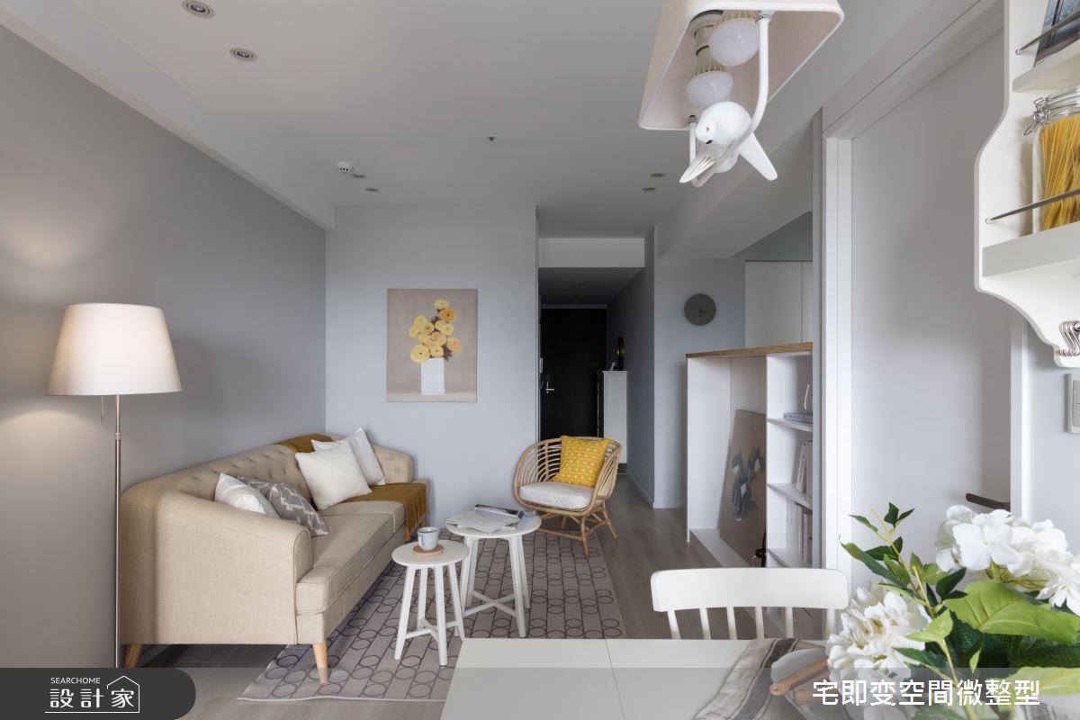 28坪新成屋(5年以下)_美式風客廳案例圖片_宅即變空間微整型_宅即變_32之8