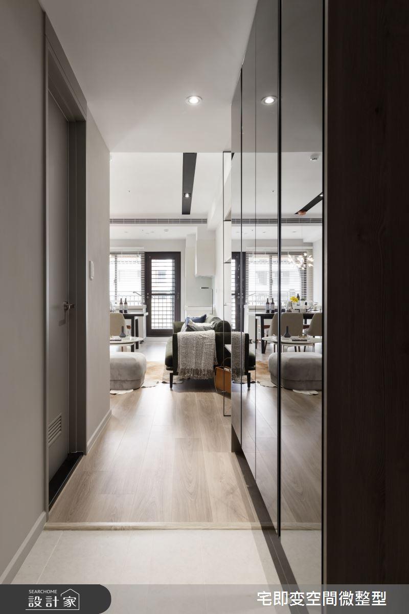 35坪新成屋(5年以下)_時尚都會風玄關案例圖片_宅即變空間微整型_宅即變_34之1