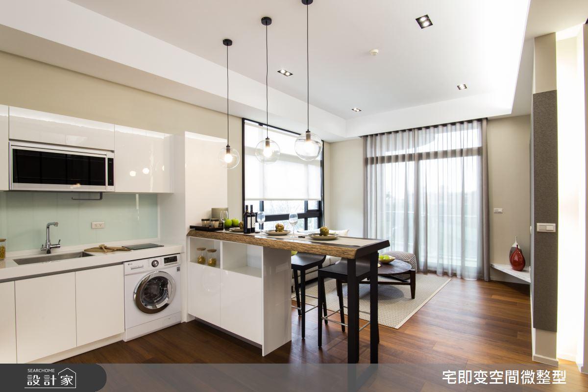 20坪新成屋(5年以下)_現代風餐廳案例圖片_宅即變空間微整型_宅即變_37之1