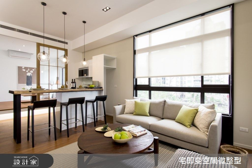 20坪新成屋(5年以下)_現代風客廳案例圖片_宅即變空間微整型_宅即變_37之3