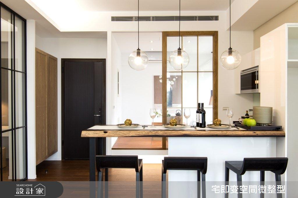 20坪新成屋(5年以下)_現代風餐廳中島案例圖片_宅即變空間微整型_宅即變_37之2