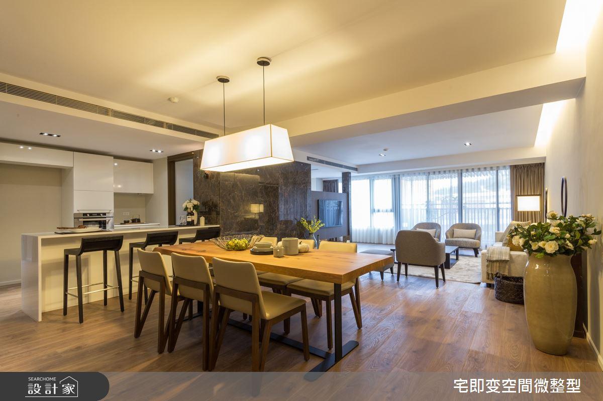 70坪新成屋(5年以下)_人文禪風餐廳案例圖片_宅即變空間微整型_宅即變_39之2
