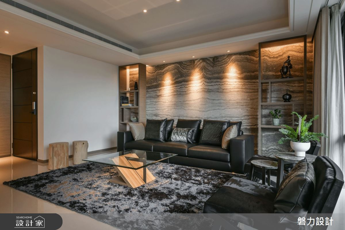 78坪新成屋(5年以下)_現代風客廳案例圖片_Keystone design 磐力設計_磐力_河曲山迎之4