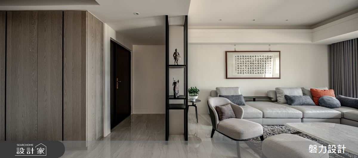 65坪中古屋(5~15年)_現代風案例圖片_Keystone design 磐力設計_磐力_運境.蘊靜之1