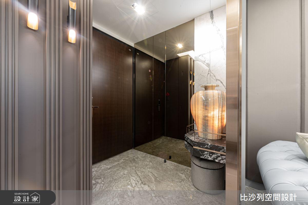 48坪新成屋(5年以下)_現代風玄關案例圖片_比沙列空間設計_比沙列_04之1
