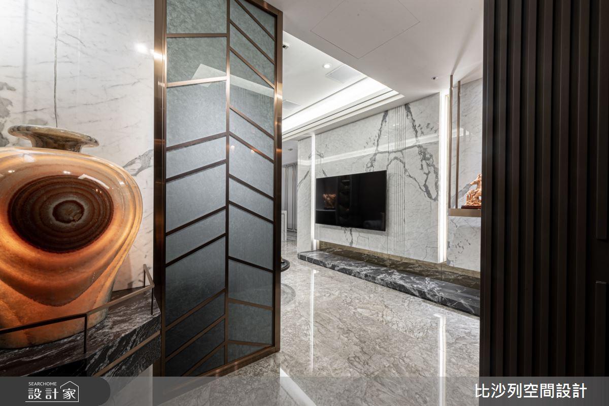 48坪新成屋(5年以下)_現代風玄關案例圖片_比沙列空間設計_比沙列_04之2
