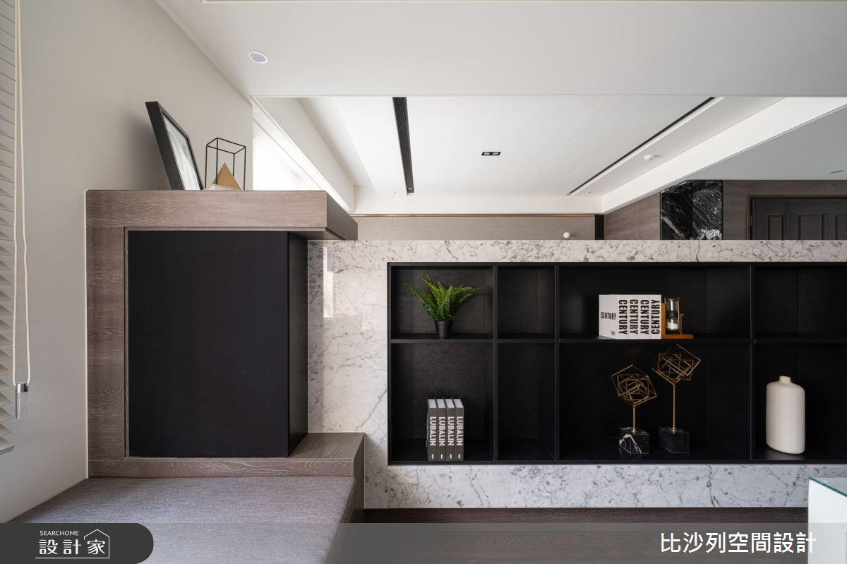 90坪新成屋(5年以下)_現代風書房案例圖片_比沙列空間設計_比沙列_07之18