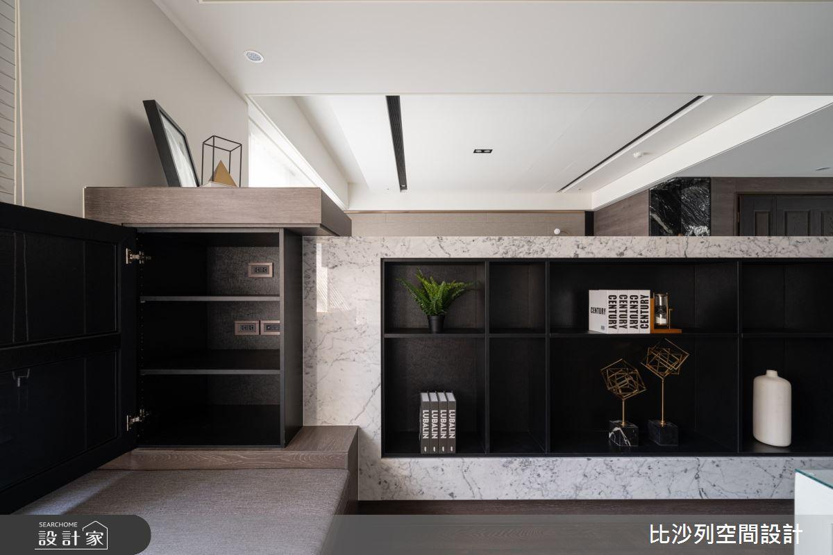 90坪新成屋(5年以下)_現代風書房案例圖片_比沙列空間設計_比沙列_07之19