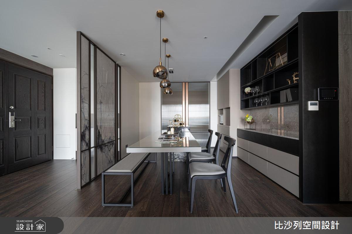 90坪新成屋(5年以下)_現代風餐廳案例圖片_比沙列空間設計_比沙列_07之25
