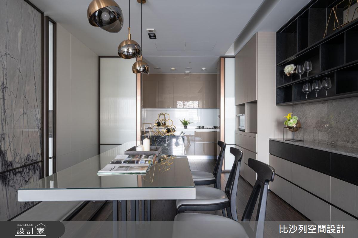 90坪新成屋(5年以下)_現代風餐廳案例圖片_比沙列空間設計_比沙列_07之26