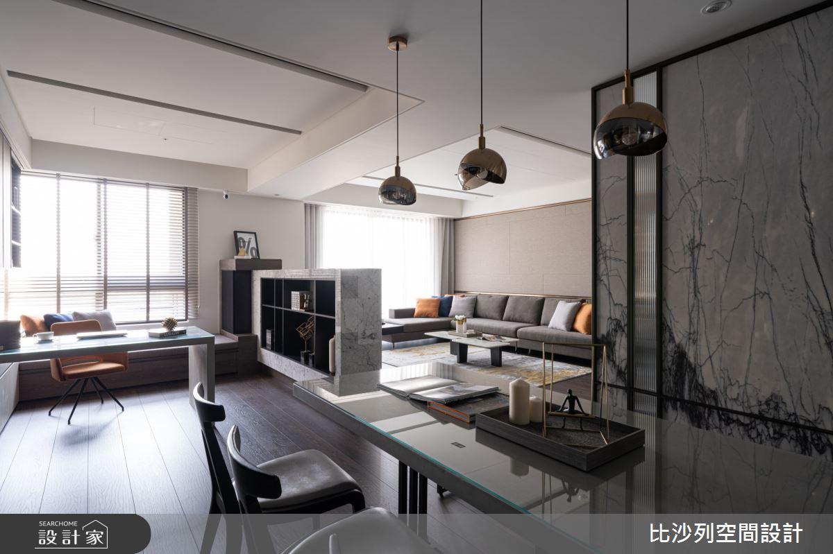 90坪新成屋(5年以下)_現代風餐廳案例圖片_比沙列空間設計_比沙列_07之28