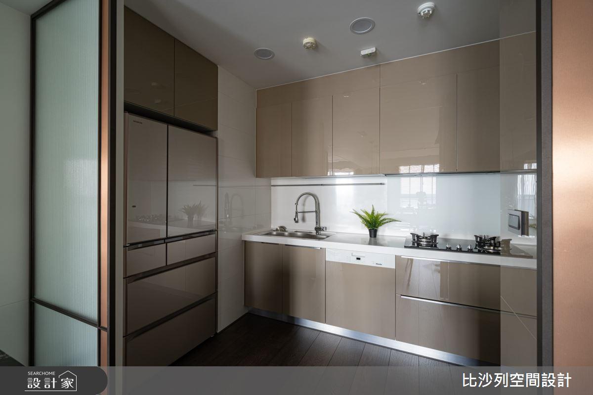 90坪新成屋(5年以下)_現代風廚房案例圖片_比沙列空間設計_比沙列_07之30
