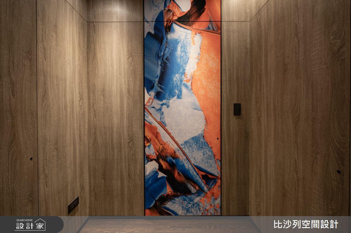 90坪新成屋(5年以下)_現代風走廊案例圖片_比沙列空間設計_比沙列_07之31