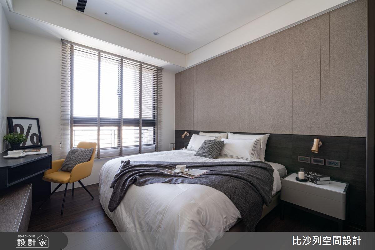 90坪新成屋(5年以下)_現代風臥室案例圖片_比沙列空間設計_比沙列_07之50