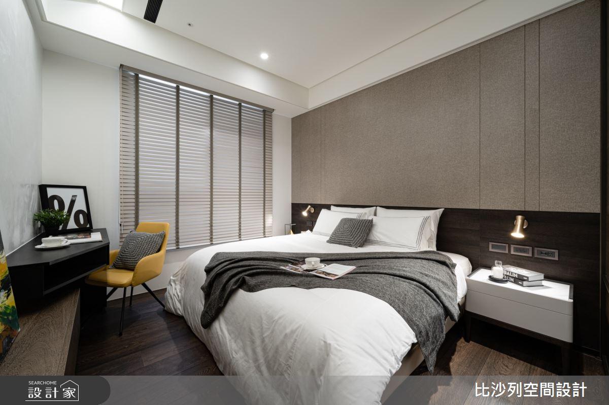 90坪新成屋(5年以下)_現代風臥室案例圖片_比沙列空間設計_比沙列_07之51
