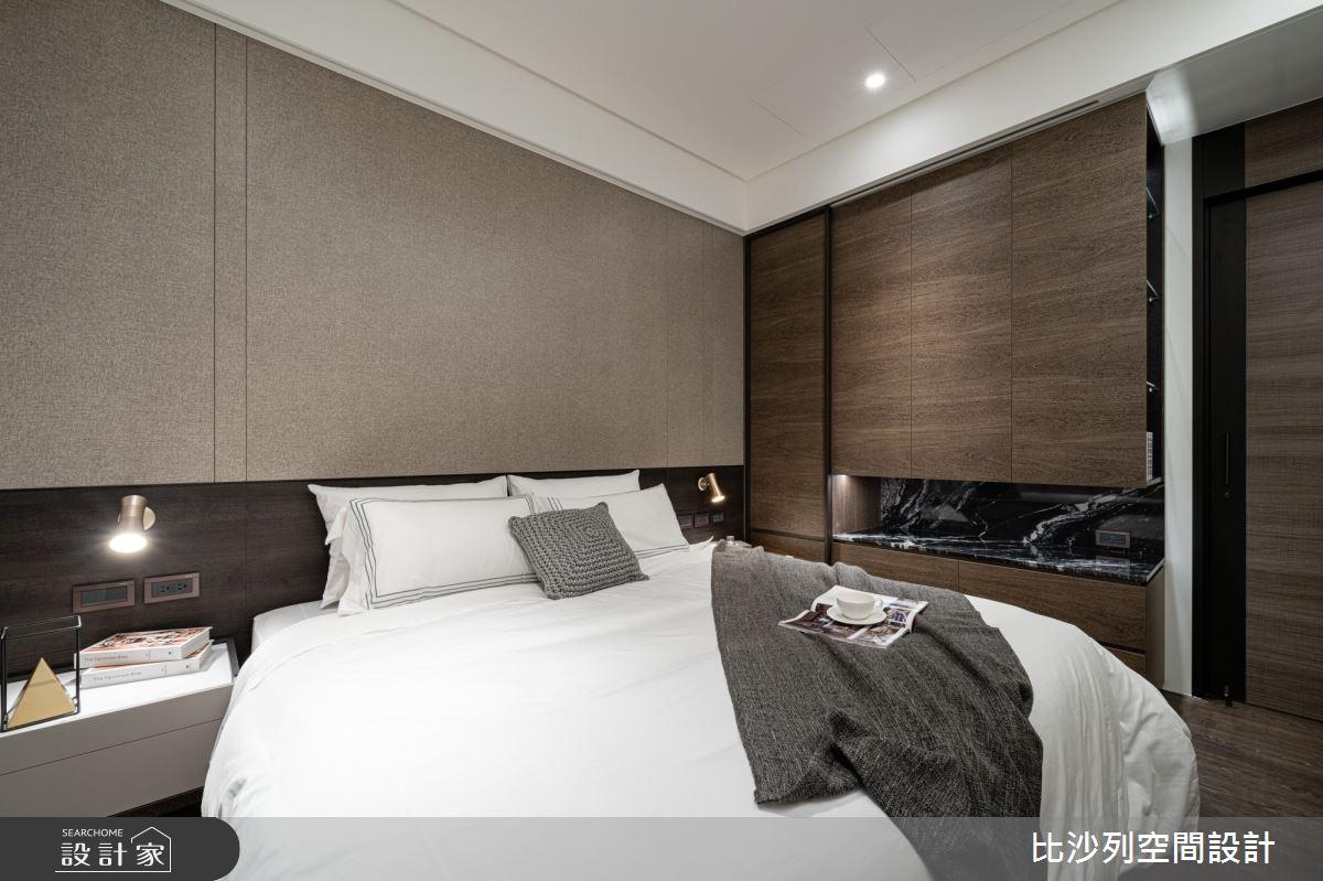 90坪新成屋(5年以下)_現代風臥室案例圖片_比沙列空間設計_比沙列_07之52