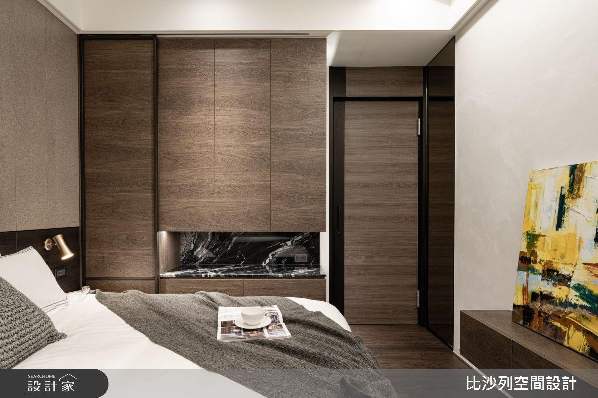 90坪新成屋(5年以下)_現代風臥室案例圖片_比沙列空間設計_比沙列_07之53