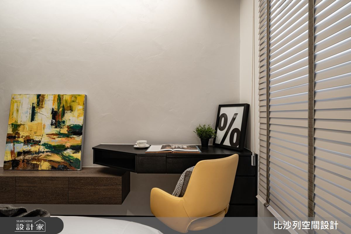 90坪新成屋(5年以下)_現代風臥室案例圖片_比沙列空間設計_比沙列_07之54