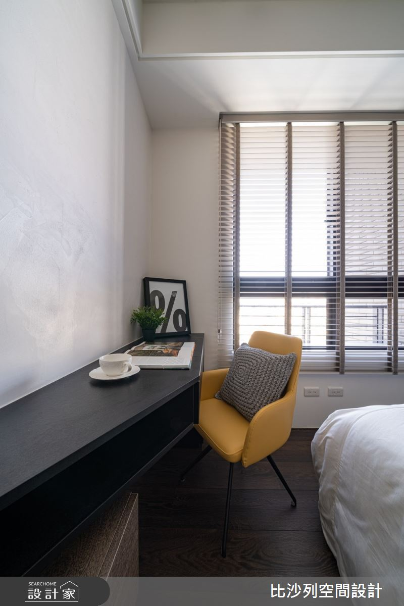 90坪新成屋(5年以下)_現代風臥室案例圖片_比沙列空間設計_比沙列_07之55