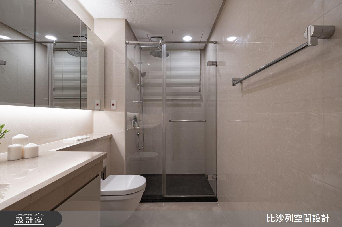 90坪新成屋(5年以下)_現代風浴室案例圖片_比沙列空間設計_比沙列_07之56