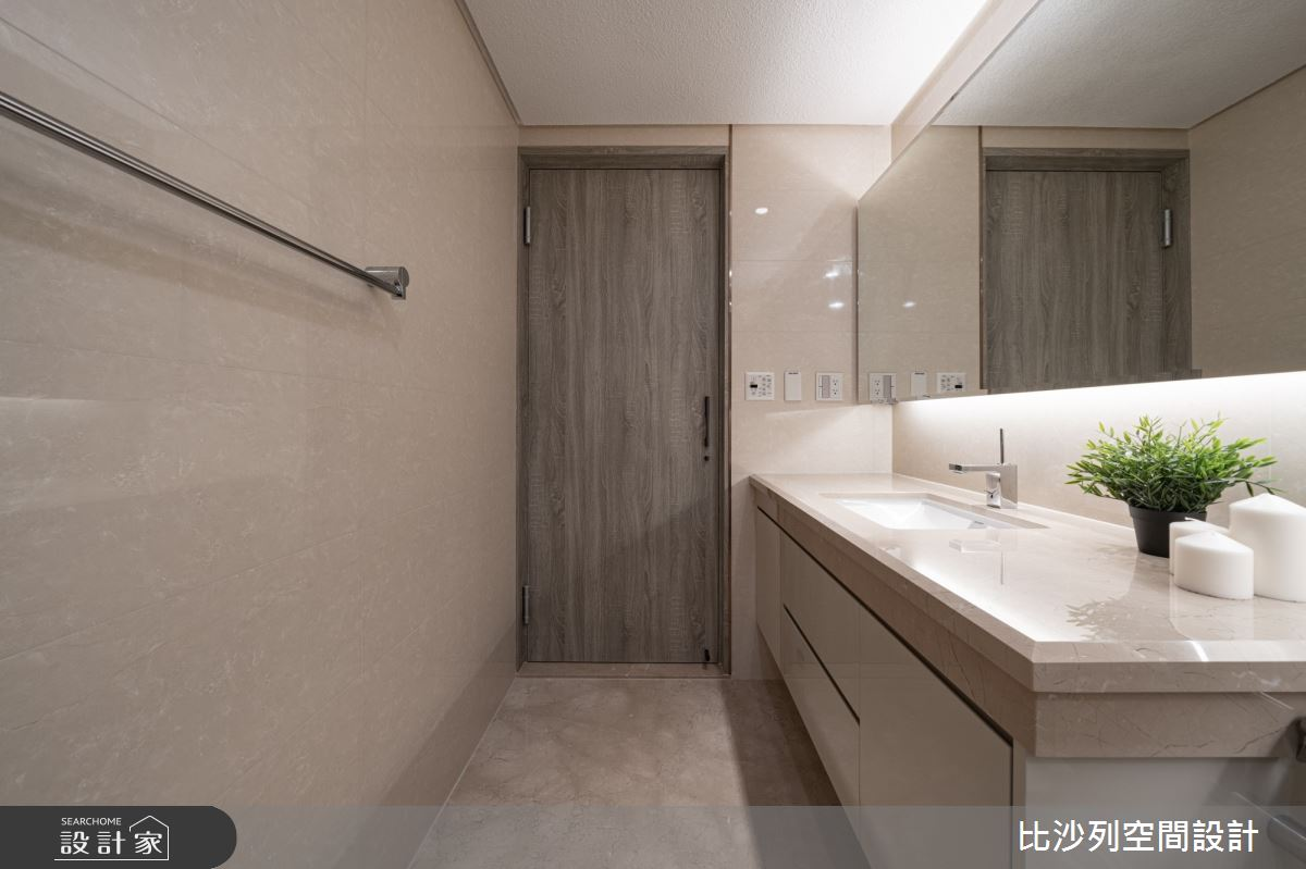 90坪新成屋(5年以下)_現代風浴室案例圖片_比沙列空間設計_比沙列_07之57