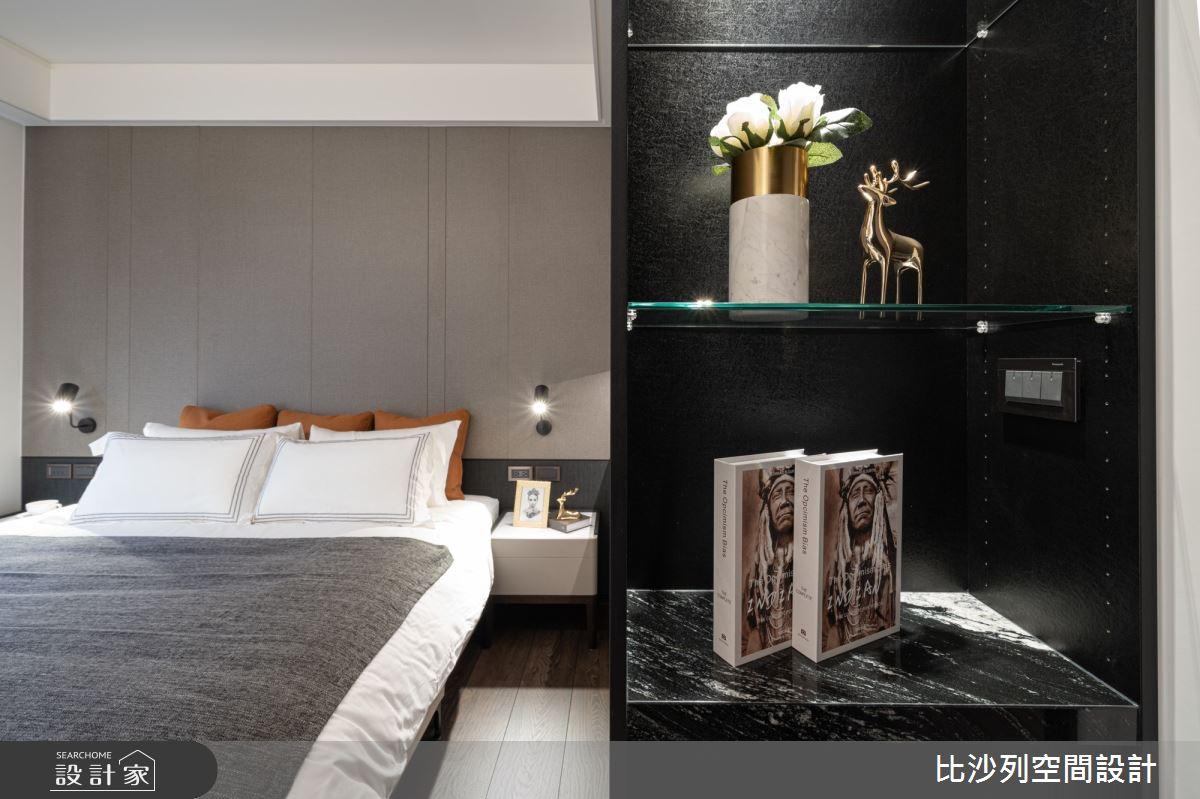 90坪新成屋(5年以下)_現代風臥室案例圖片_比沙列空間設計_比沙列_07之58