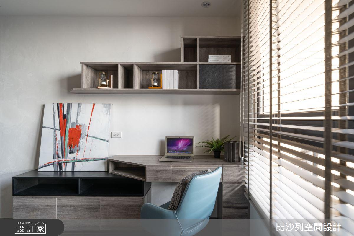 90坪新成屋(5年以下)_現代風臥室案例圖片_比沙列空間設計_比沙列_07之60