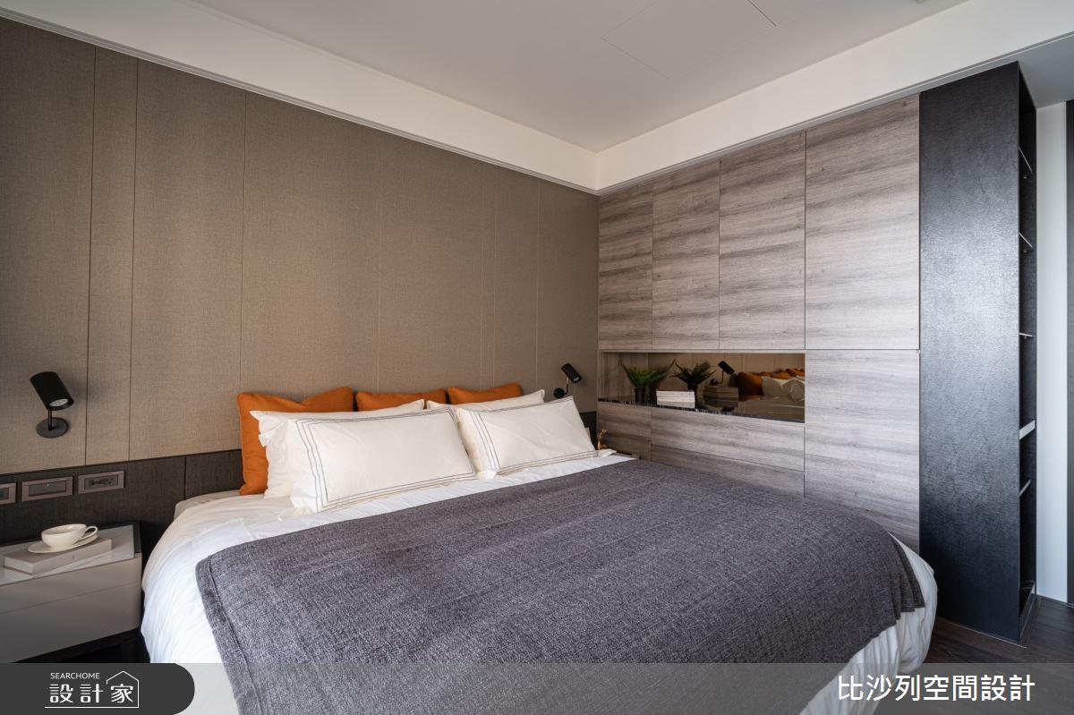 90坪新成屋(5年以下)_現代風臥室案例圖片_比沙列空間設計_比沙列_07之63